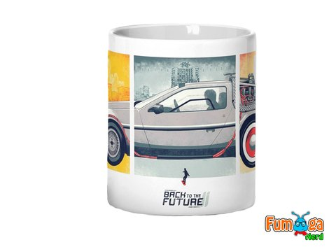 Caneca De Volta Para O Futuro - Back To The Future - comprar online