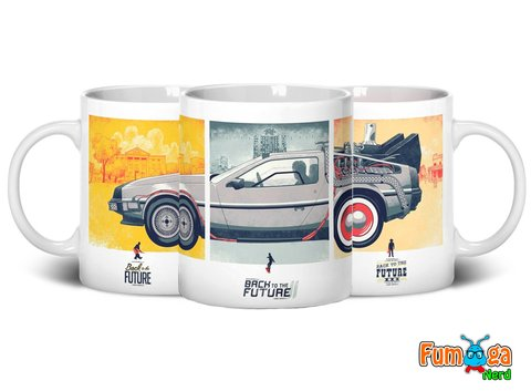 Caneca De Volta Para O Futuro - Back To The Future