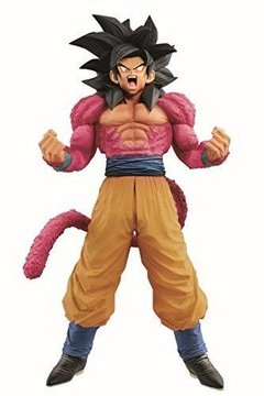 ACTION FIGURE DRAGON BALL GT - SUPER MASTER STAR PIECE - GOKU SAIYAJIN 4 - THE BRUSH