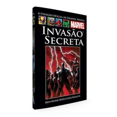 Graphic Novels Marvel Ed. 55 Invasão Secreta