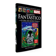 Graphic Novels Marvel Ed. 68 Quarteto Fantástico - O Dia Do Juízo Final
