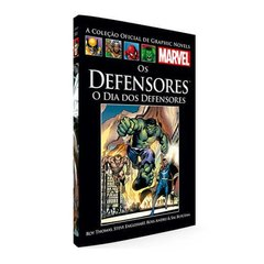 Graphic Novels Marvel Ed. 95 Os Defensores - O Dia Dos Defensores