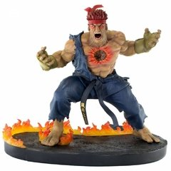 ACTION FIGURE - STREET FIGHTER - THE BEAST UNLEASHED - EVIL RYU