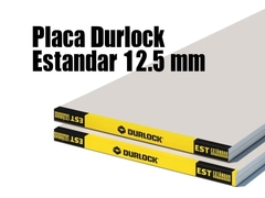 Durlock Placa Standard STD 12.5MM 1.20X2.40