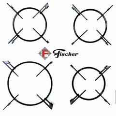 Kit Trempe Grade Grelha Cooktop Fischer 4q Tc 9788 Original