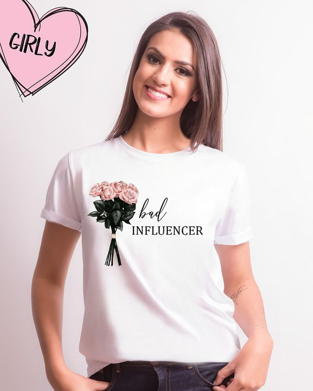 Camiseta Bad Influencer