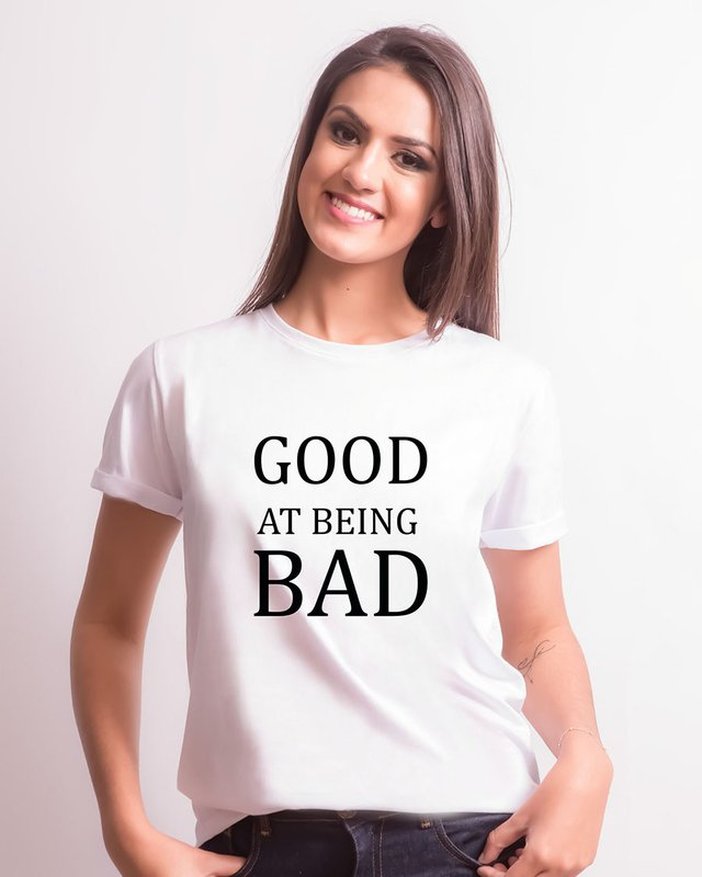 Camiseta Good at being Bad - comprar online