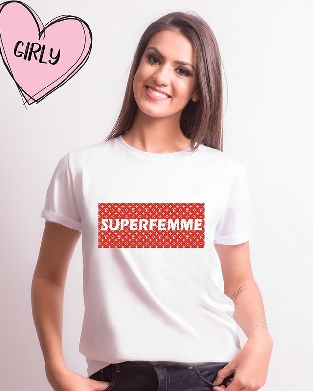 Camiseta Superfemme