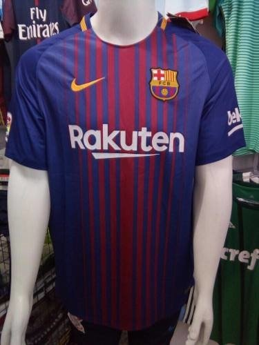 8db5e1087 Camisa Nike Barcelona Home 2018 S nº - Azul E Vermelho