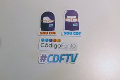 Kit Stickers do Código Fonte TV