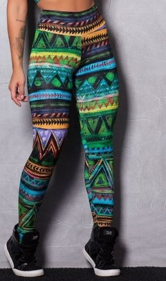 Calça Legging Brilho Tribe Colors - Beyond The Box
