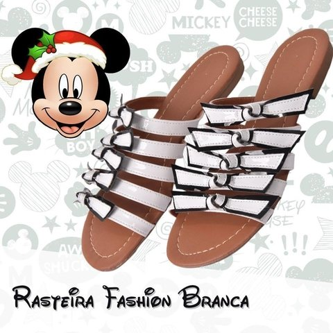 Rasteirinha Fashion Branca