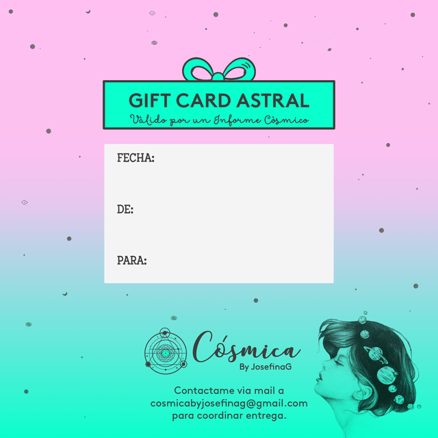 GIFT CARD ASTROLOGIA