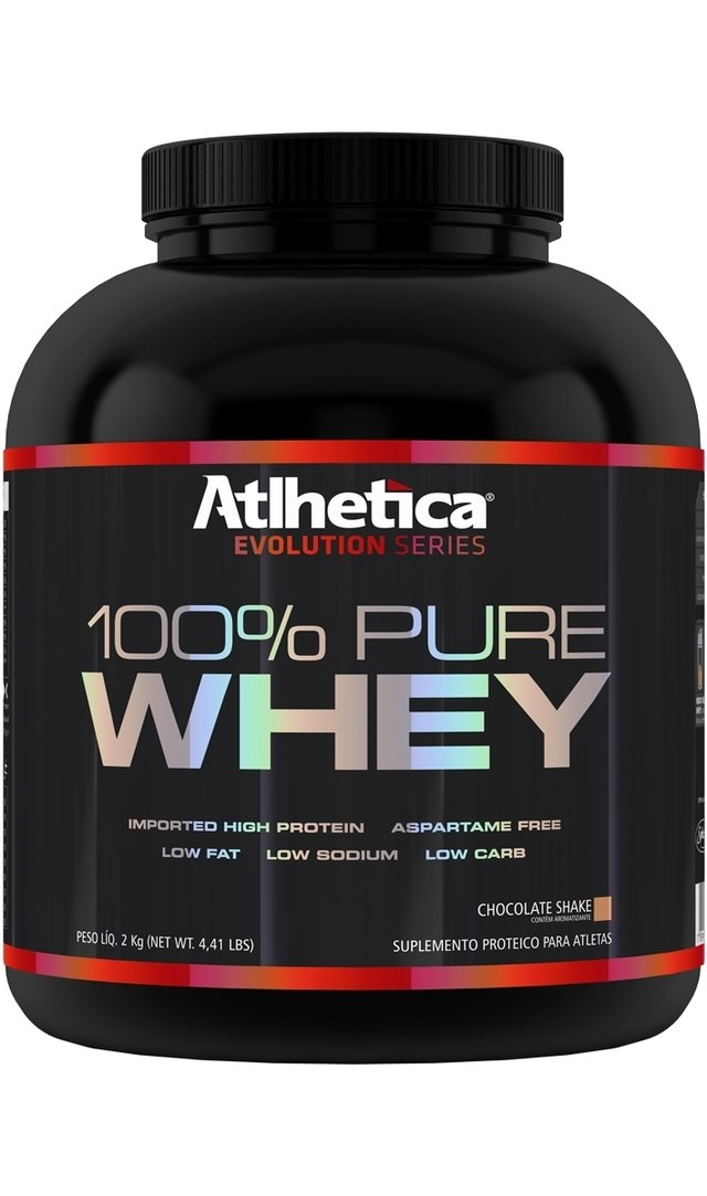 Whey 100% Pure 2kg Sabor Chocolate