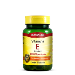 Vitamina E 100% IDR - 60 Caps