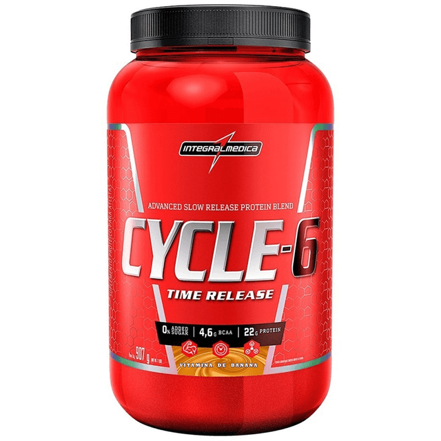 Cycle 6 Sabor Vitamina de Banana 907g Integralmedica