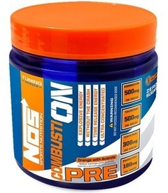 Pré-treino CombustiON Orange with Acerola 270g - Nos Nutrition