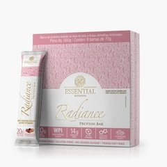 RADIANCE BERRIES + WHITE CHOCOLATE BOX 560g - Box c/ 8 barras de 70g Barra de Proteína WPI + Berries + Chocolate branco