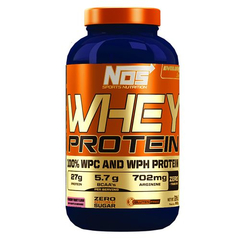 Whey Protein Strawberry Yogurt Flavor 900g - NOS Nutrition