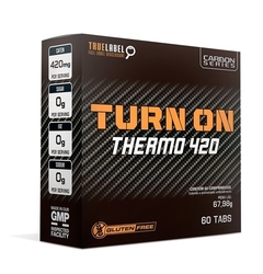 Turn On Thermo 420 60 Tabletes - Nos Sport Nutrition
