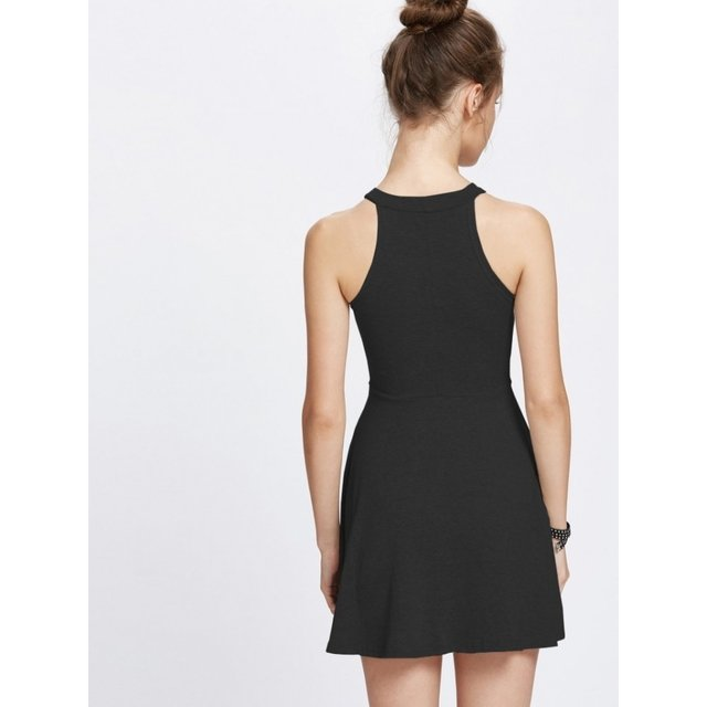 Vestido cute europa color negro - Jako Fashion