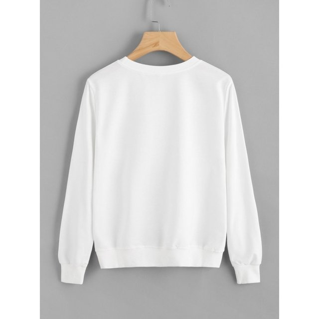 Buzo algodón blanco bad girls club - comprar online