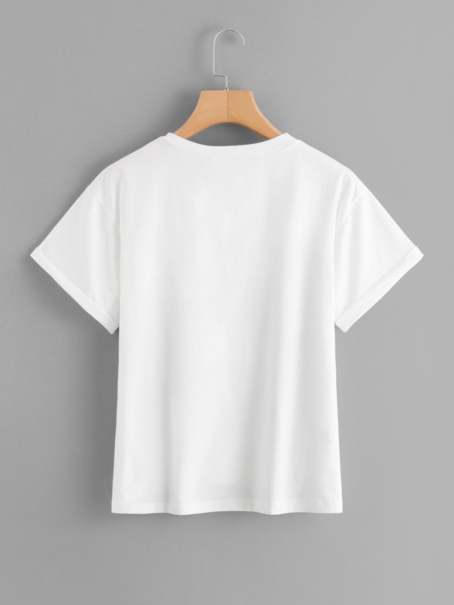 Camiseta bolsillo cute fashion gy - comprar online