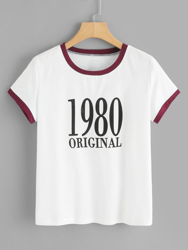 Camiseta cool 1980 original