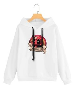 Buzo Buso Saco Capota Mujer Deadpool I Am Unicorn - Jako Fashion
