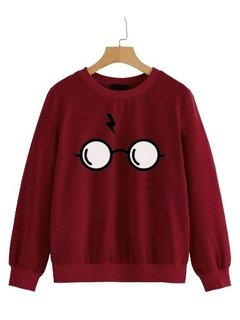 Buzo Buso Sweater Saco Mujer Harry Potter Gafas - Jako Fashion
