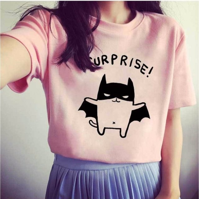 Camiseta surprise catman - comprar online