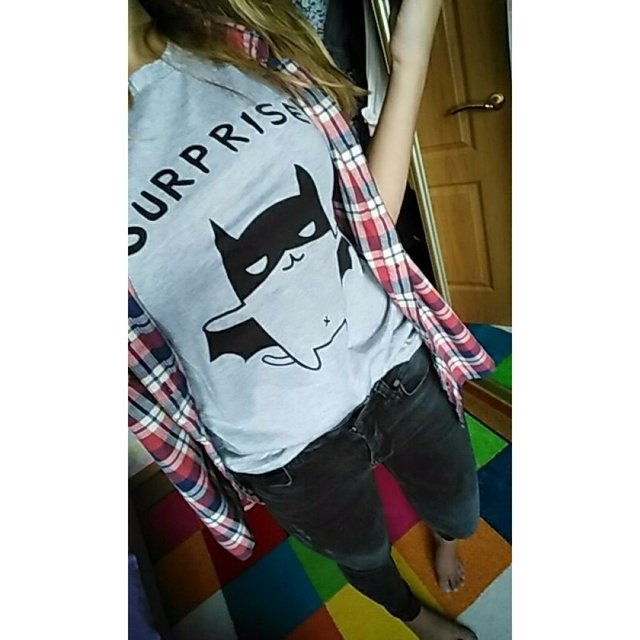 Camiseta surprise catman - Jako Fashion