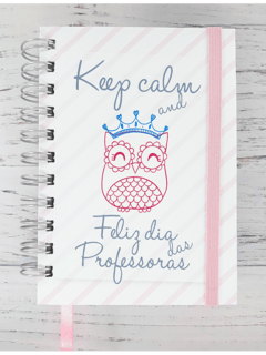 Mini Caderno A6 - Keep Calm