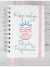 Caderno Bullet Journal A5 - Keep Calm
