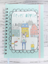 Caderno Bullet Journal - Never Alone
