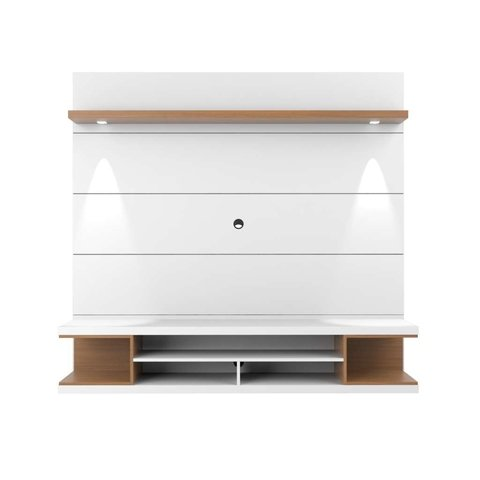 Home Axel 181cm Branco Gloss/Natural Provincia - comprar online