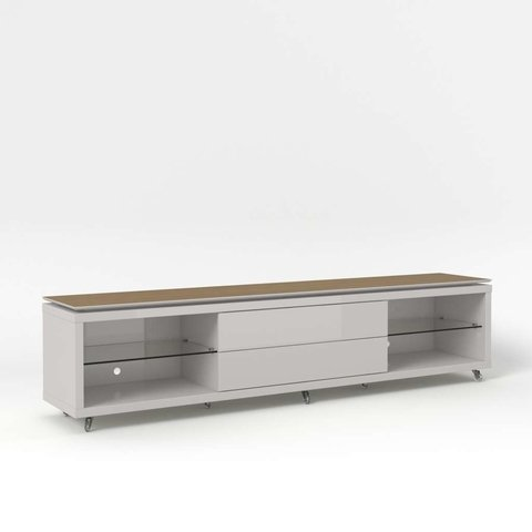 Rack Lincoln 220cm Off-White/Natural Provincia - comprar online