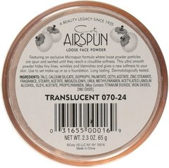 AIRSPUN Loose Face Powder. POLVO VOLÁTIL - comprar online