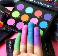 "RUDE: ""RudeFlix"" City of Pastel Lights. Paleta de sombras - comprar online"