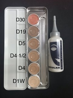 Dermacolor paleta de 6 + Basis (diluyente) de 75ml. OFERTA TOTAL! en internet