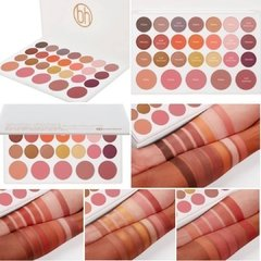 BH COSMETICS: Nouveau Neutrals 26 Color Shadow & Blush Palette - comprar online