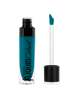 "Wet n Wild: Labial Líquido Megalast Liquid Catsuit ""The Shade is Teal"""