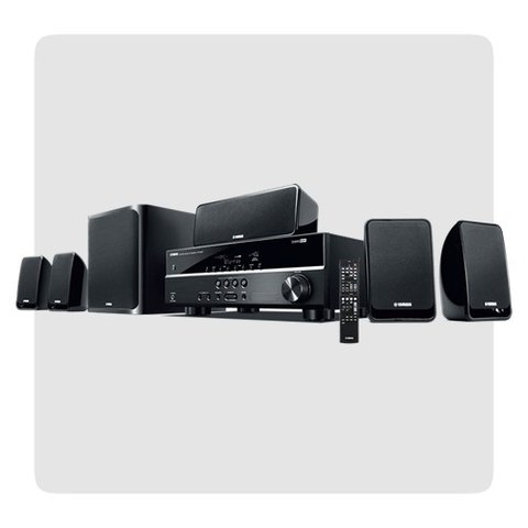 Yamaha Yht1810 Home Theater 5.1 4k Subwoofer Nvo Gtia Ofic.