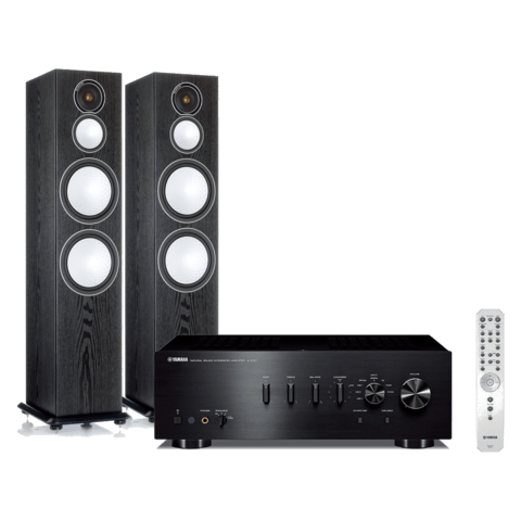 Sistema Hifi Stereo Yamaha As701 + Monitor Audio Silver 8