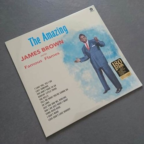 Vinil Lp James Brown The Amazing James Brown 180g Lacrado