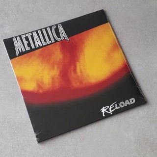 Vinil Lp Metallica Reload Blackened 2-lps Gatefold Lacrado