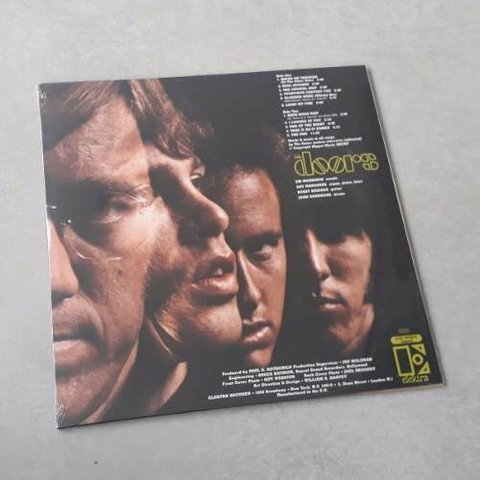 Vinil Lp The Doors 1º Album 1967 180g Mono Rhino Lacrado