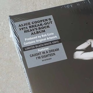 Vinil Lp Alice Cooper Love It To Death Gatefold Lacrado na internet