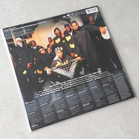 Vinil Lp Wu-tang Clan The W 2-lps 180g Lacrado