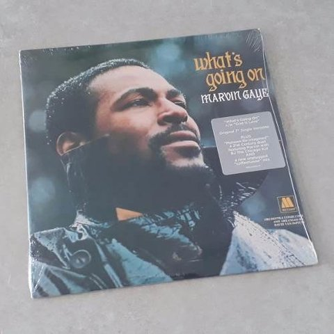 Vinil Lp Marvin Gaye What's Going On Compacto Duplo 7pol